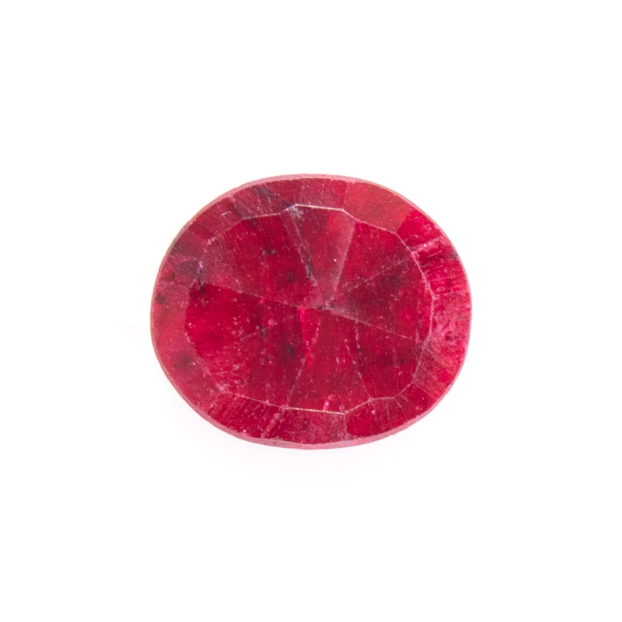 Natural Oval-cut Ruby Gemstone - Image 2 of 6