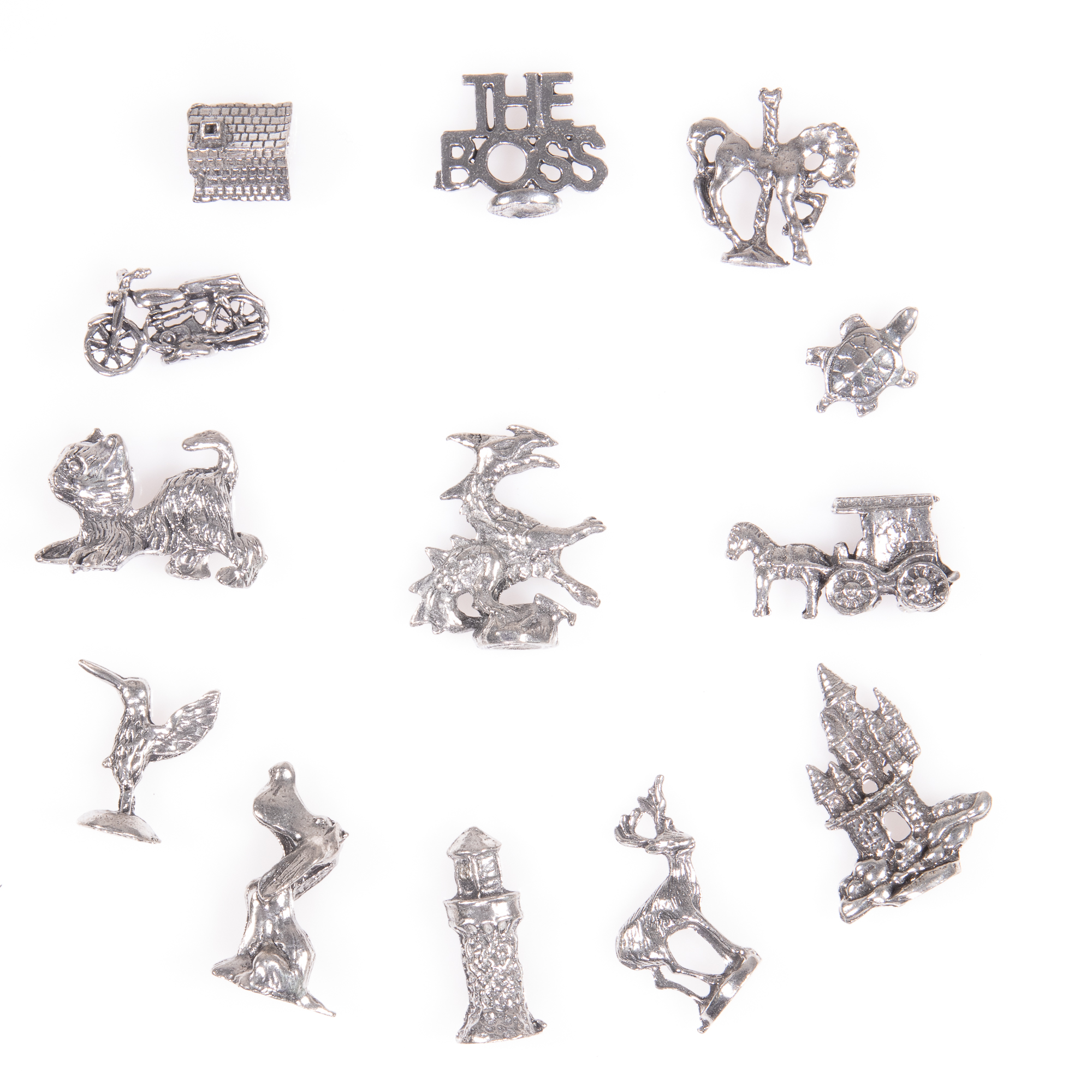 Selection of 13x Silver Novelty Charms