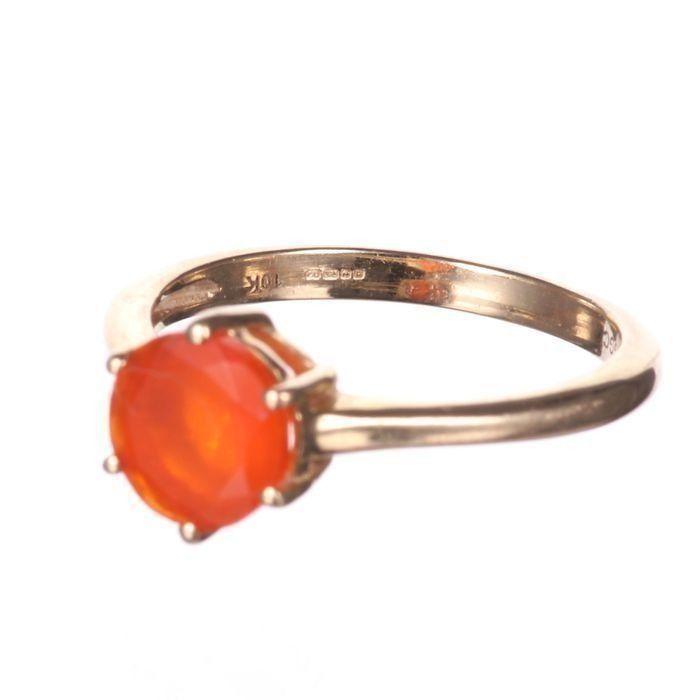 10K Gold Sunset Opal Ring - Image 5 of 6