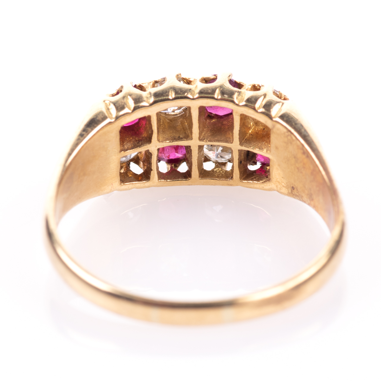 18ct Gold 0.60ct Ruby & 0.50ct Diamond Ring - Image 5 of 7