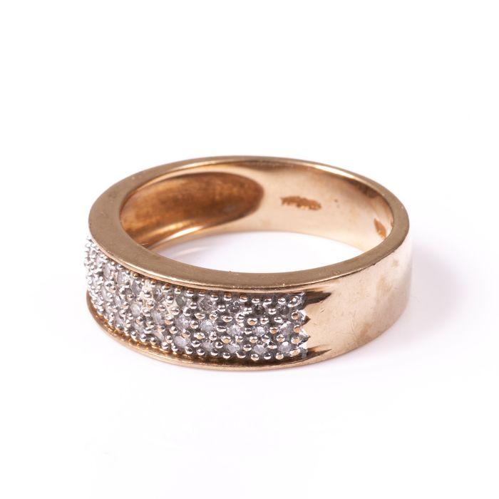 9ct Gold 0.40ct Diamond Ring - Image 4 of 7