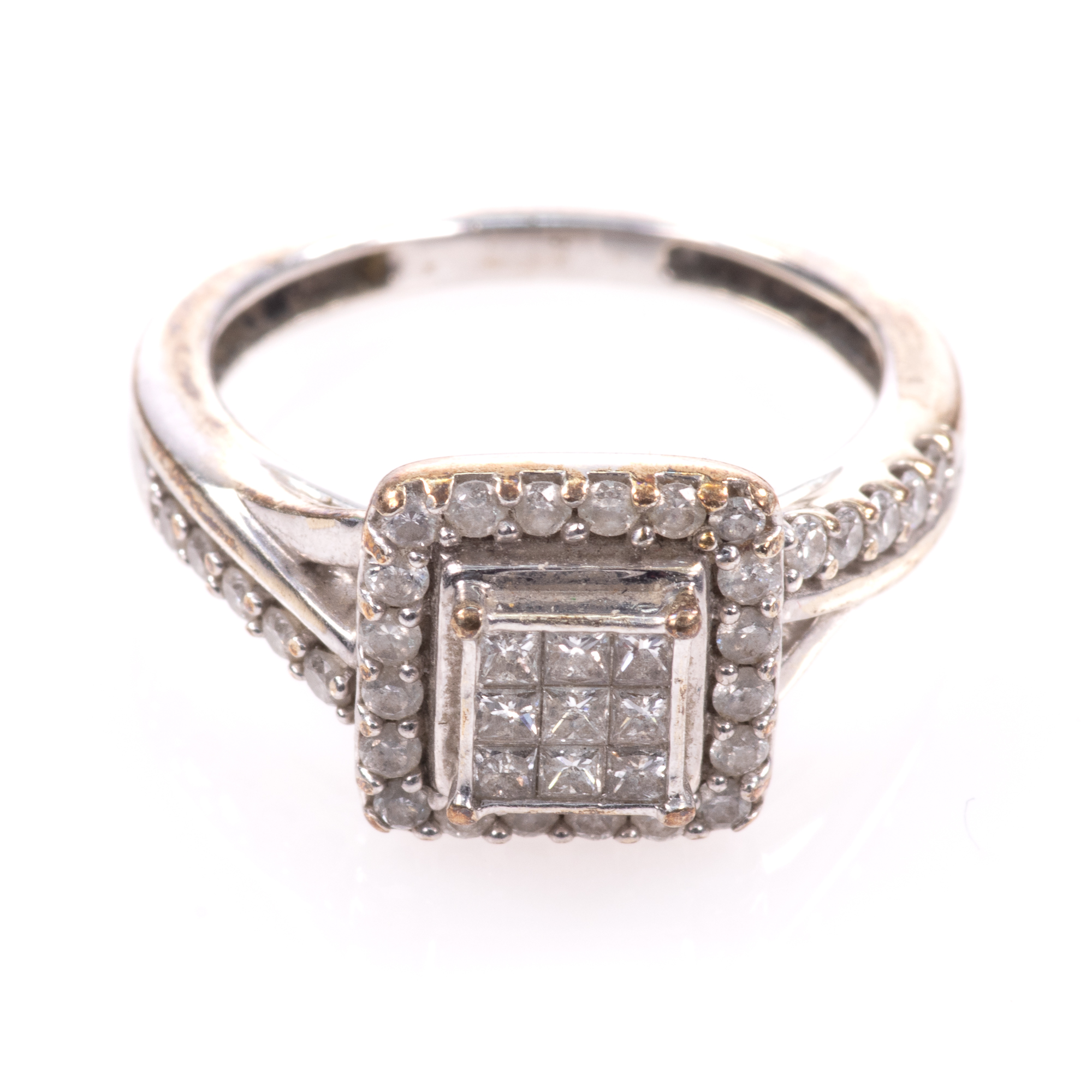 9ct White Gold 0.40ct Diamond Ring - Image 3 of 6