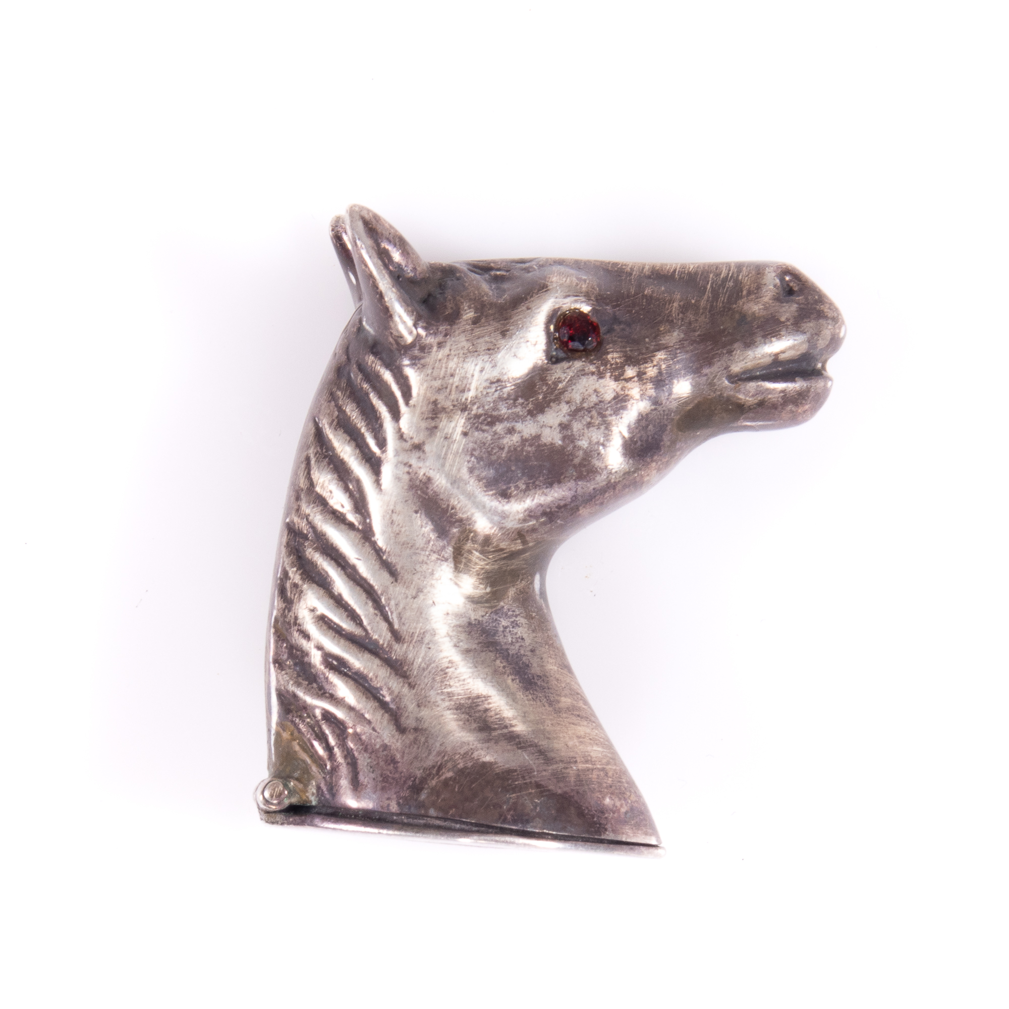Sterling Silver Equestrian Matchcase - Image 2 of 6