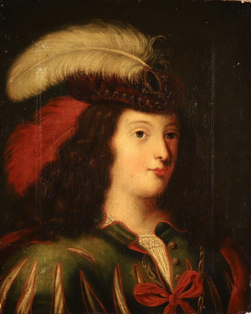 XVII French Old Master Portrait (ca 1660)
