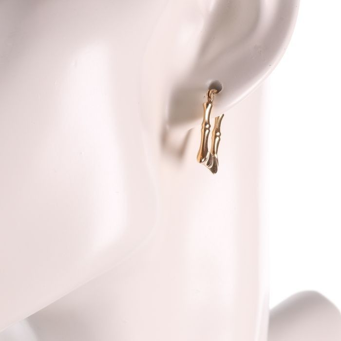 9ct Gold Italian Earrings - Image 3 of 3
