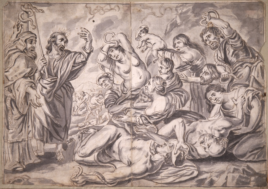 XVIII Ink & Wash French Old Master Drawing