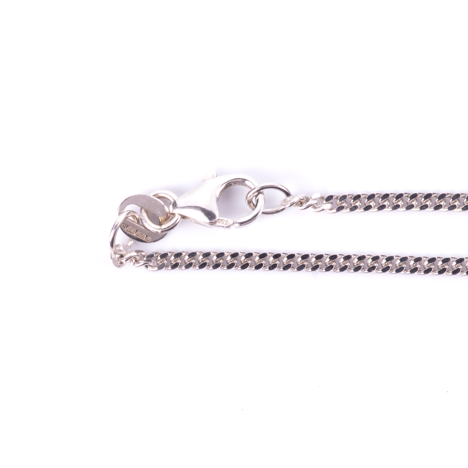 18ct White Gold Necklace - Image 2 of 2