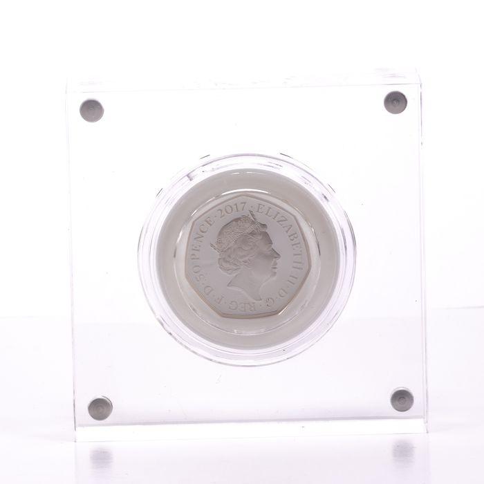 UK 50 Pence Silver Coin Beatrix Potter - Tom Kitten - Image 3 of 6