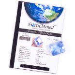 134ct Blue Topaz Gemstone with Lab Report