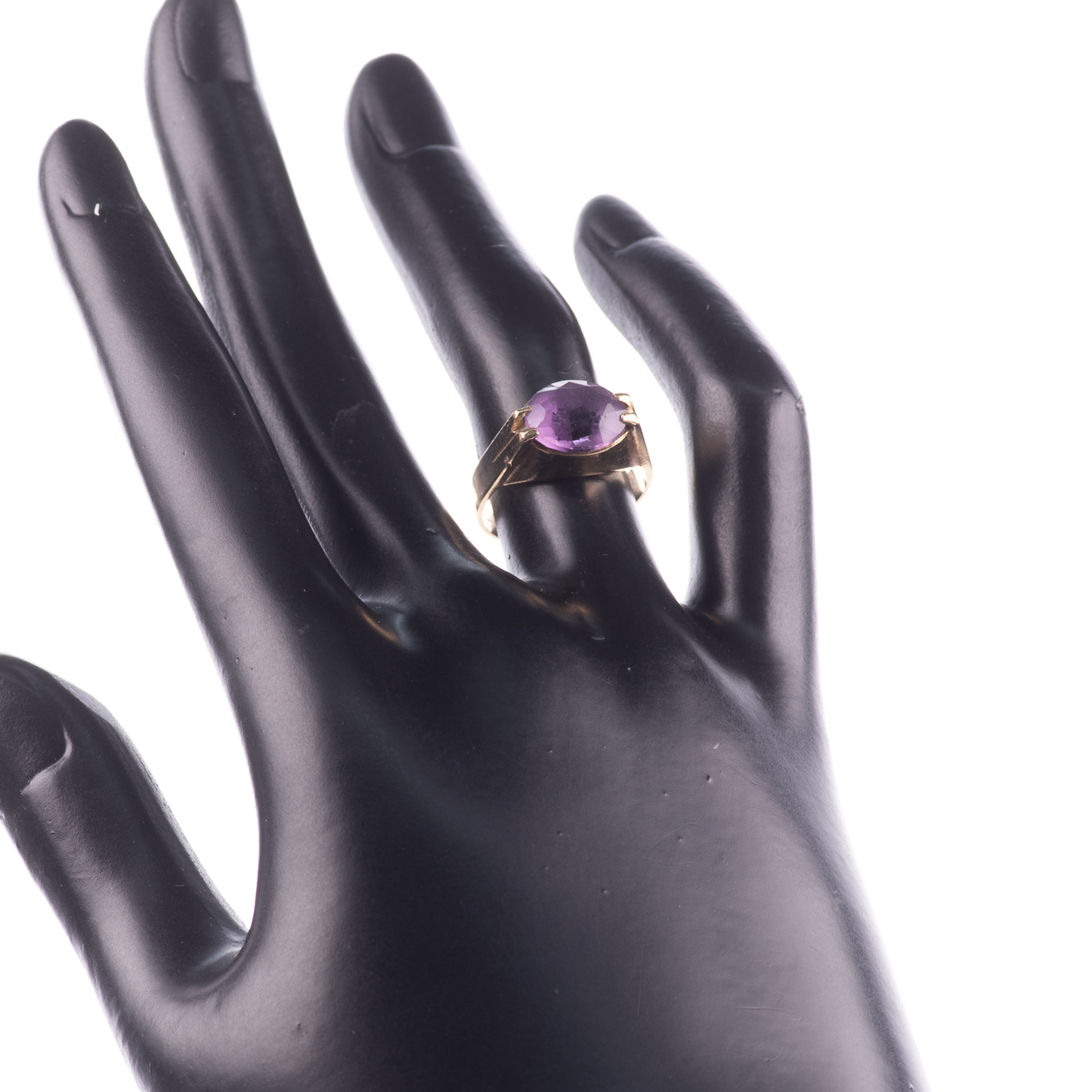 9ct Gold 3.20ct Amethyst Ring - Image 2 of 7