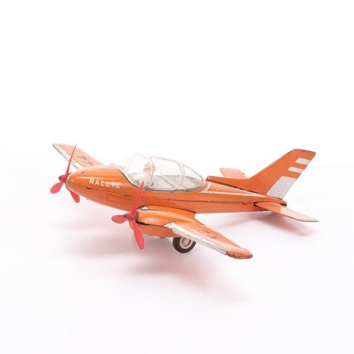 Joustra Tinplate Rallye Friction Toy Plane - Image 5 of 6