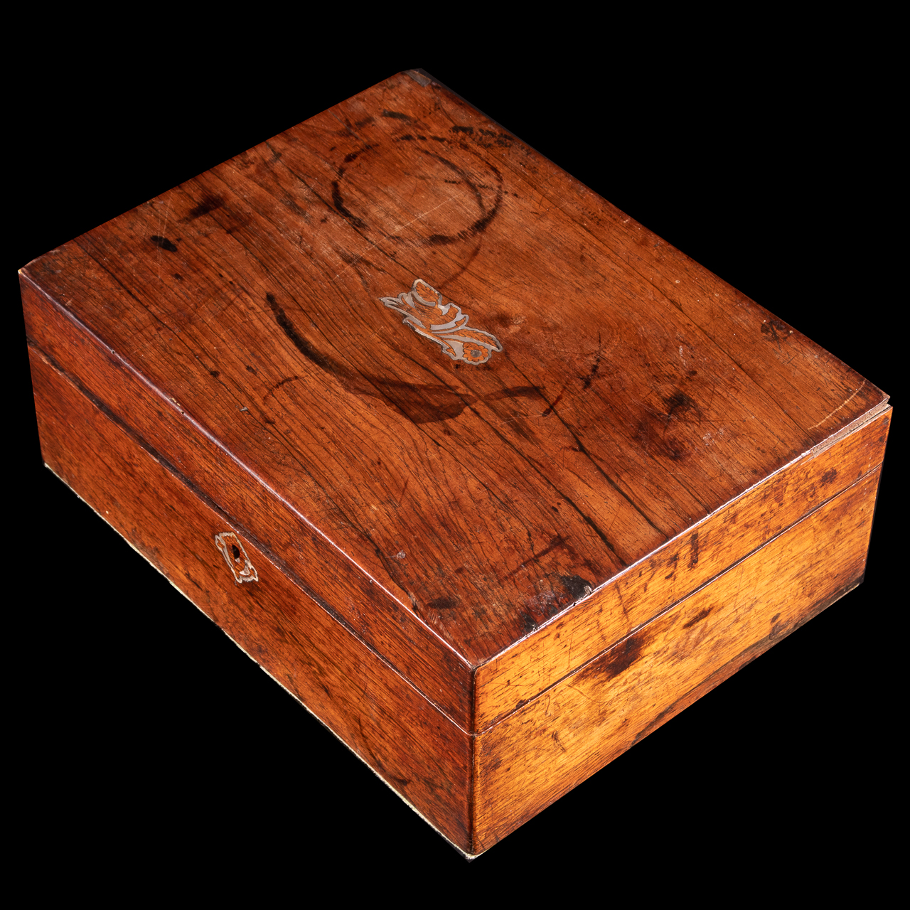 Jewellery Box with Mother of Pearl Inlay