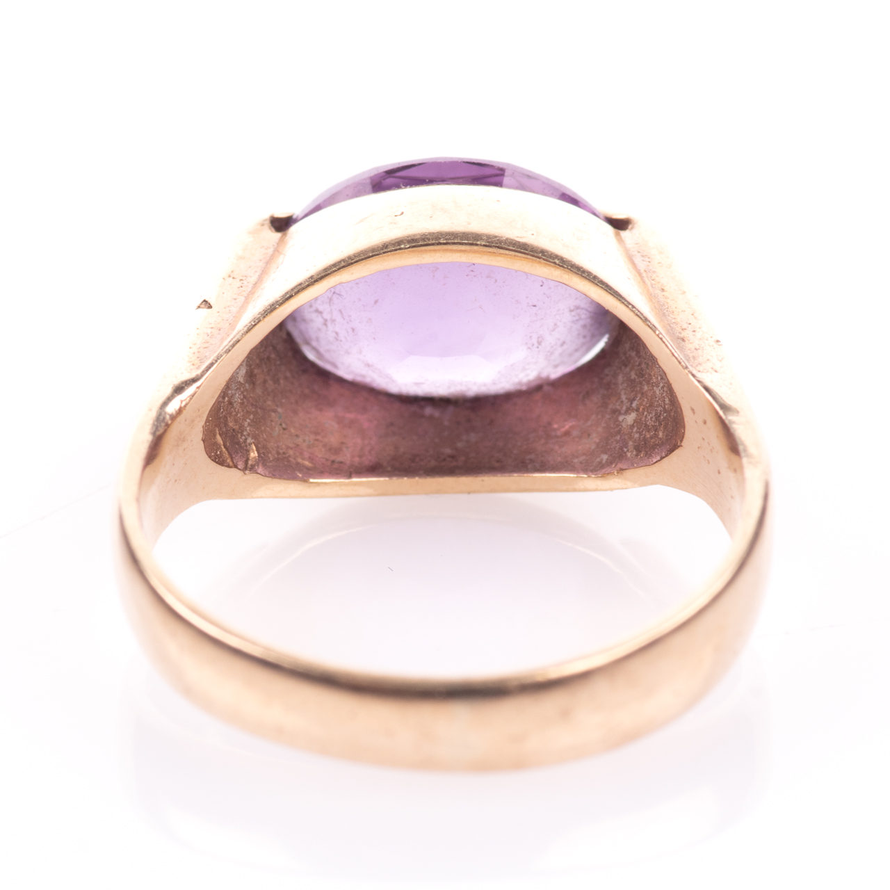 9ct Gold 3.20ct Amethyst Ring - Image 5 of 7