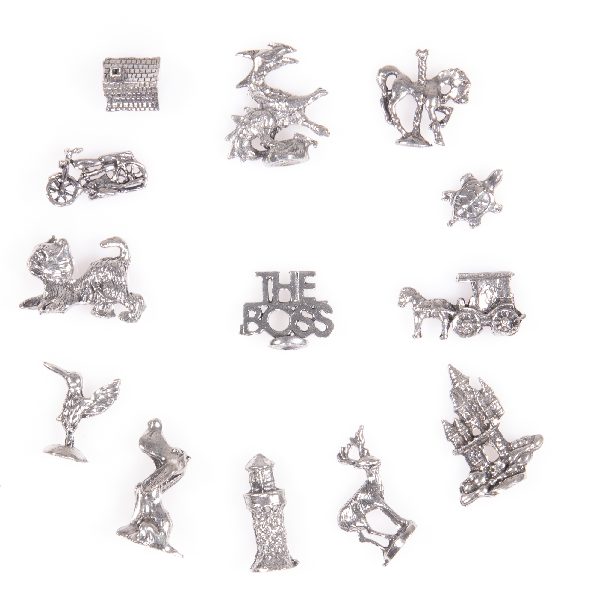 Selection of 13x Silver Novelty Charms - Image 2 of 6
