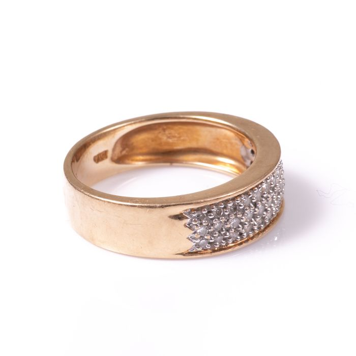 9ct Gold 0.40ct Diamond Ring - Image 6 of 7