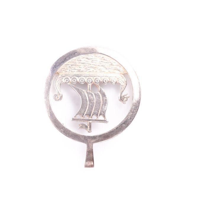 Viking Silver Pendant - Image 3 of 3
