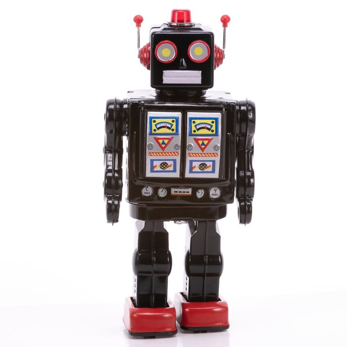 Battery Operated Tinplate Space Robot - Image 3 of 7