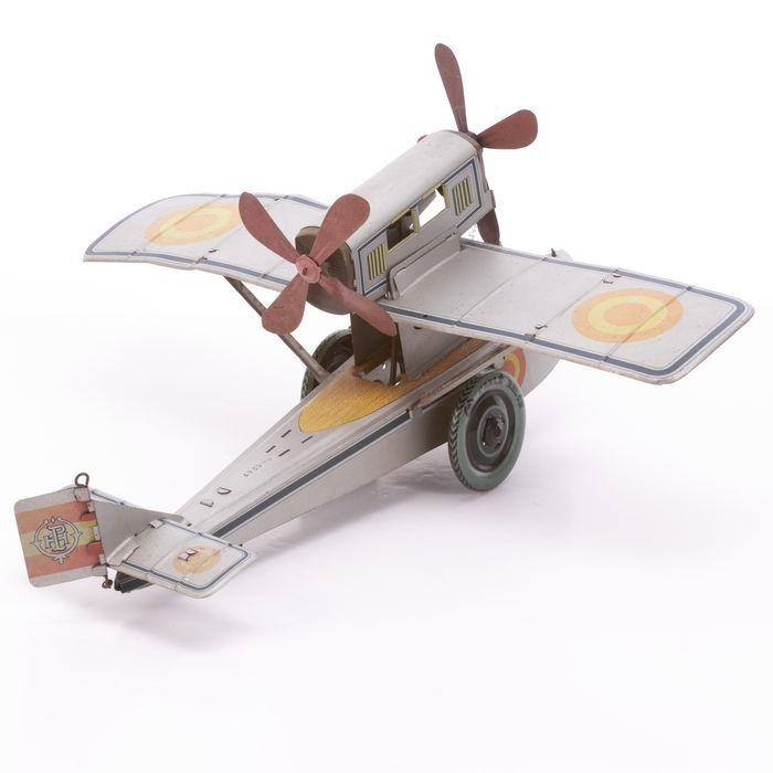 Cable Balon Wind-up Tinplate Plane - Image 4 of 6