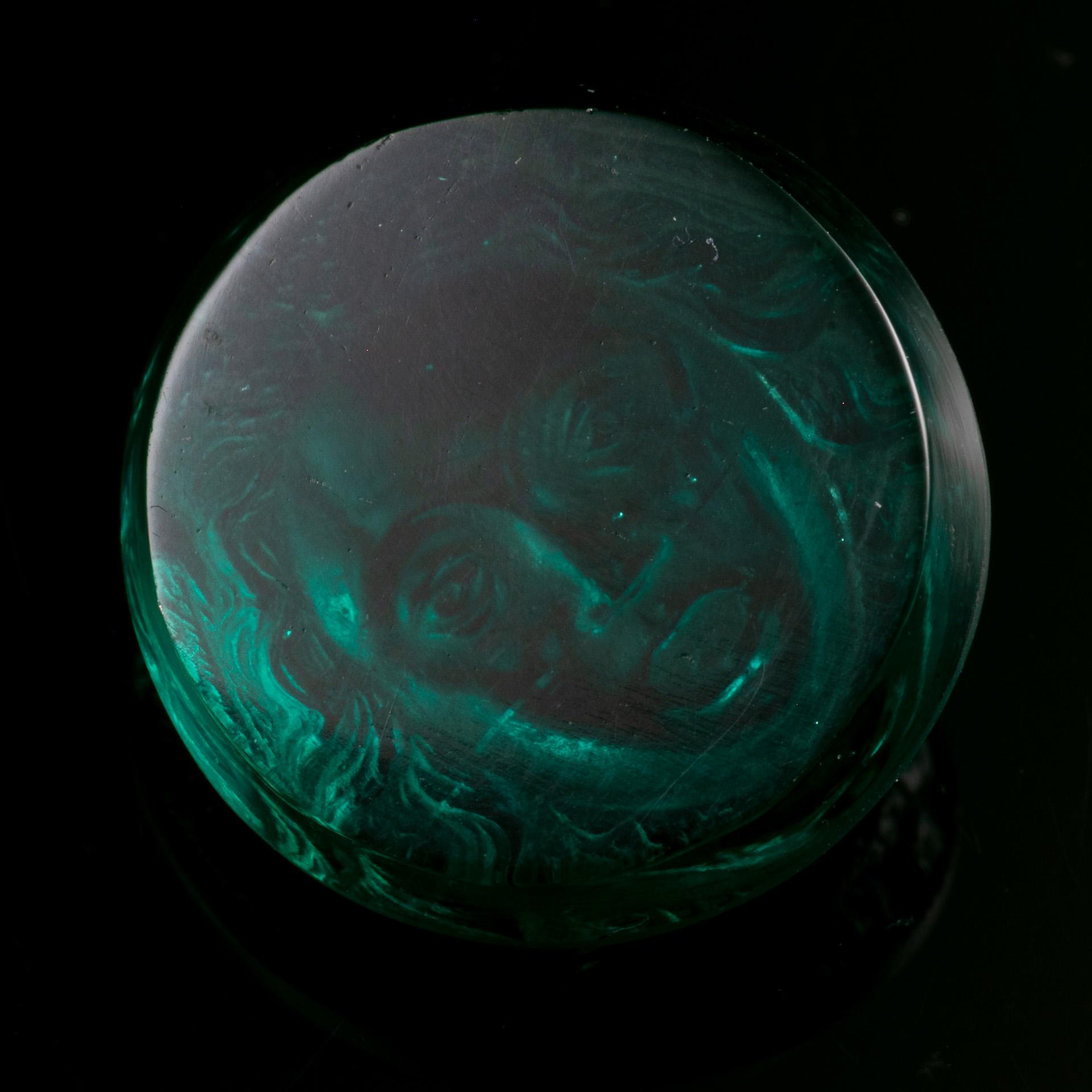 Roman Glass Cameo Depicting Medusa - Image 6 of 6