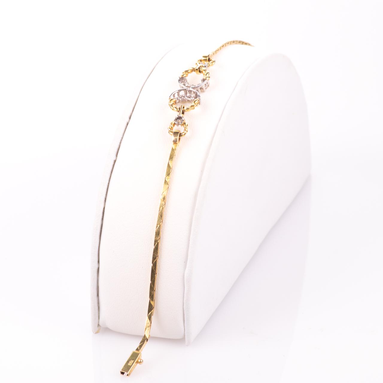 18ct Gold 0.30ct Diamond Bracelet - Image 6 of 6