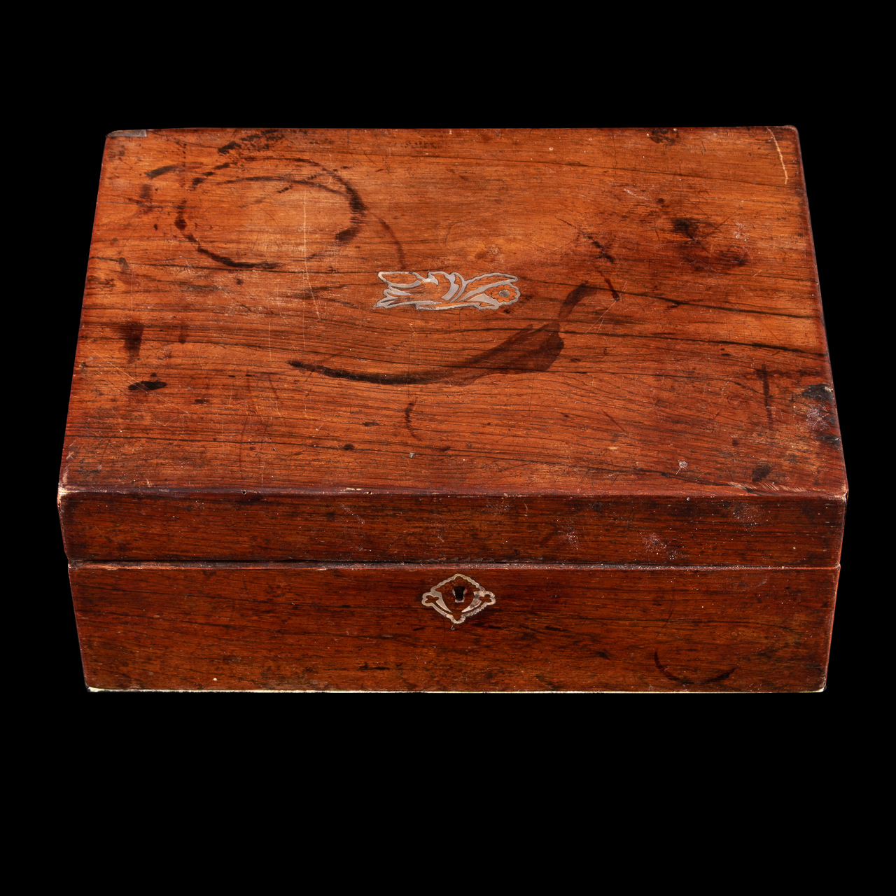 Jewellery Box with Mother of Pearl Inlay - Image 2 of 5