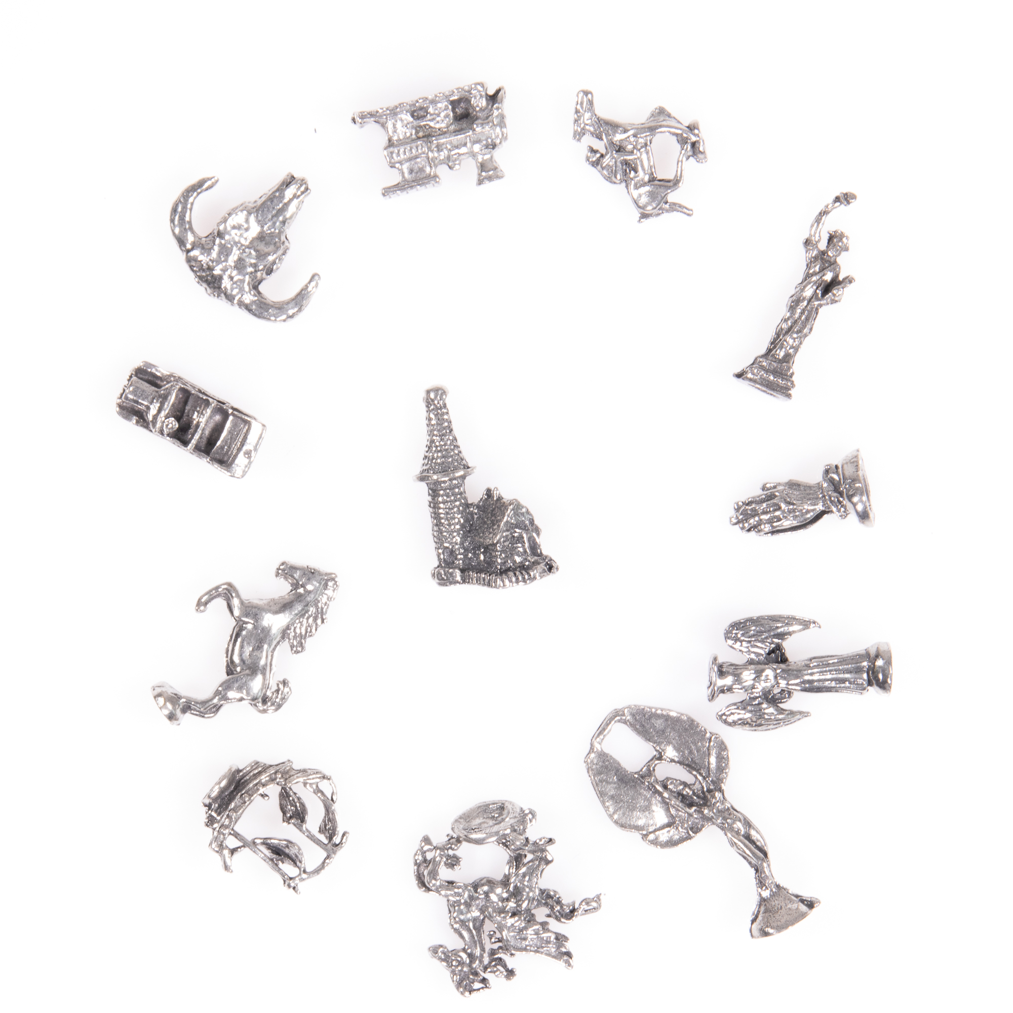Selection of 12x Silver Novelty Charms - Image 3 of 6