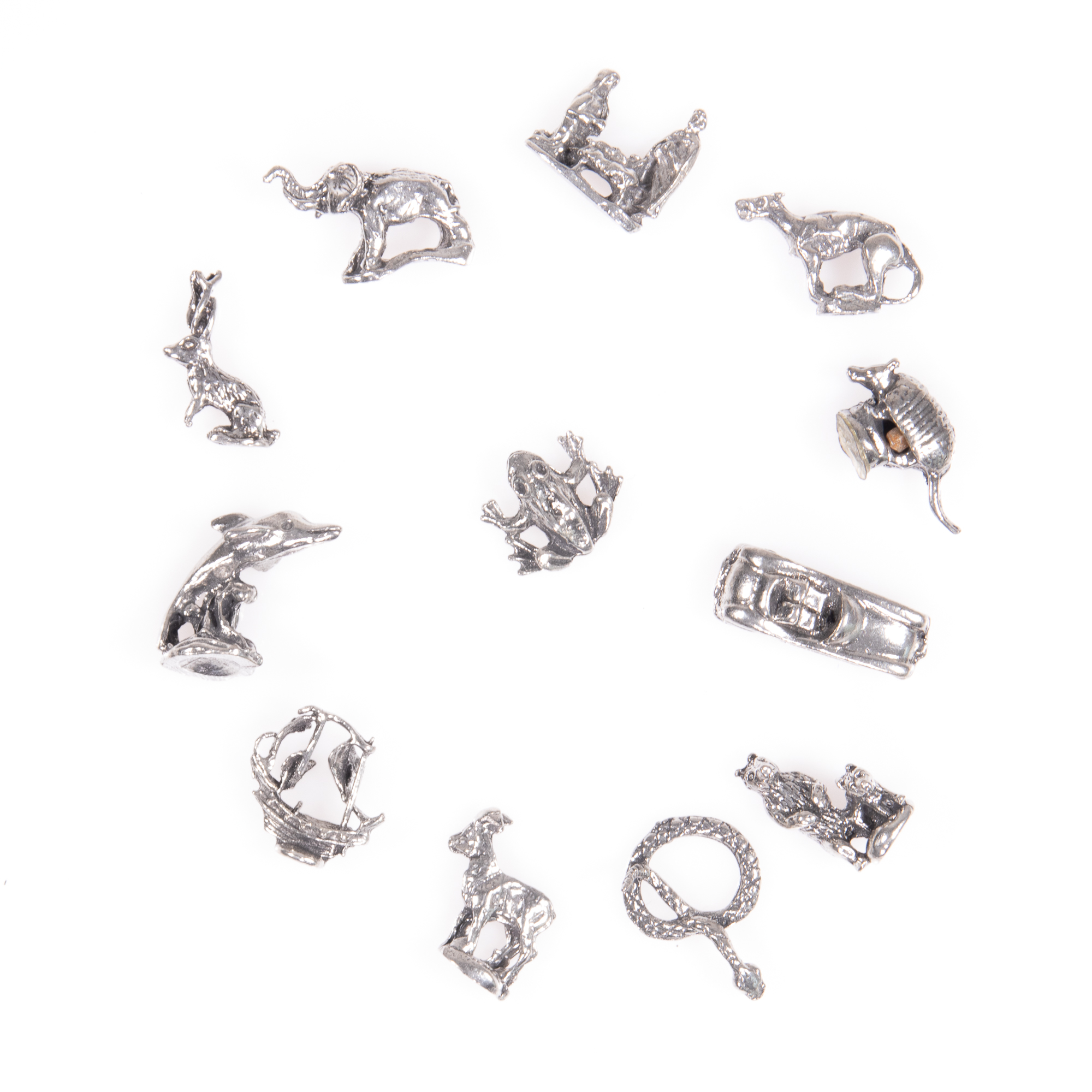 Selection of 12x Silver Novelty Charms - Image 5 of 6