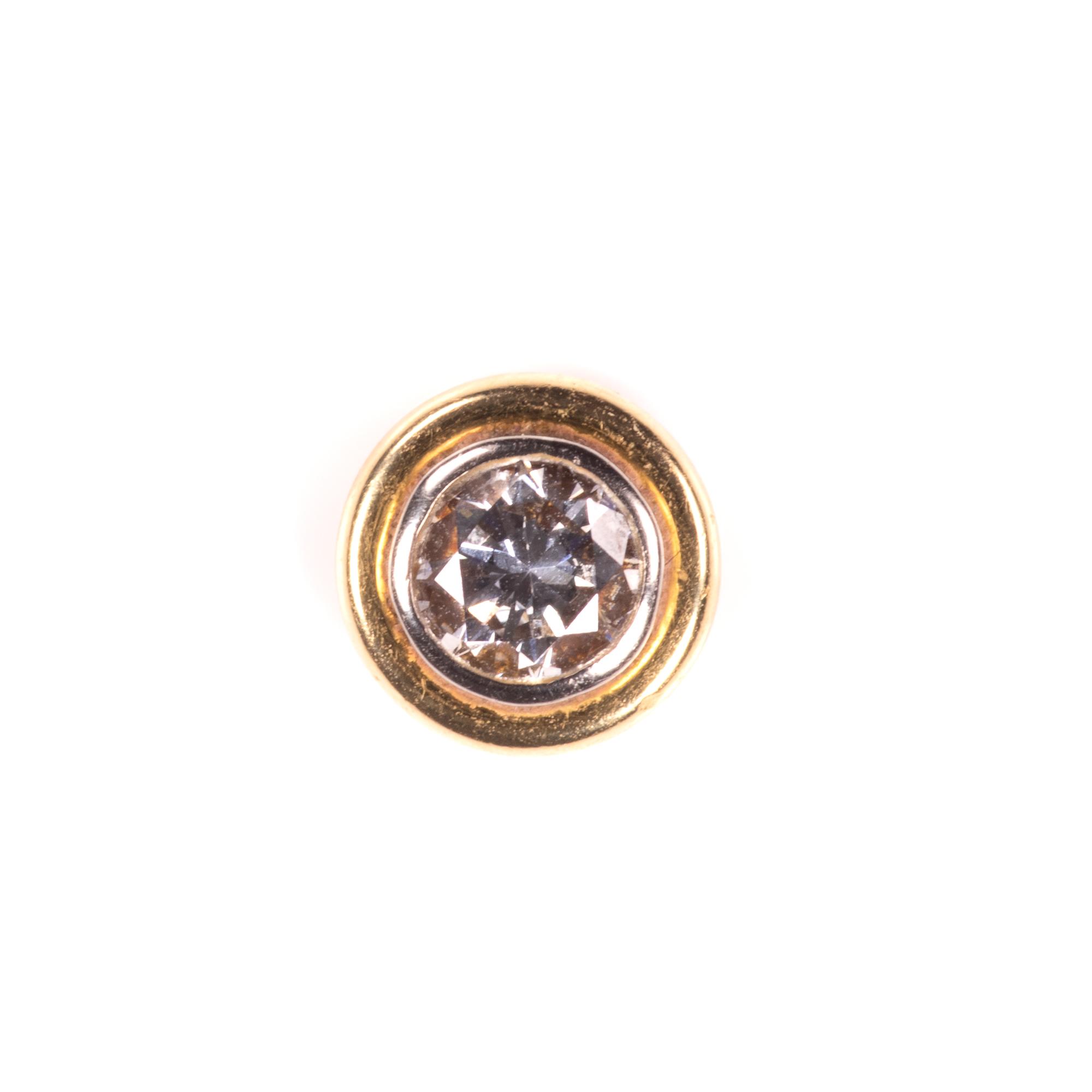 18ct Gold 1ct Diamond VVS1 Earrings - Image 4 of 7