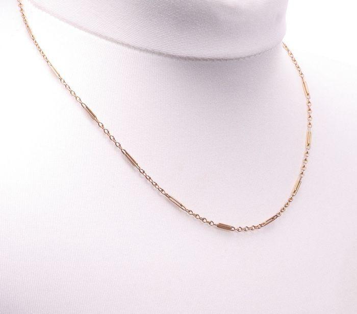 9ct Gold Art Deco Necklace