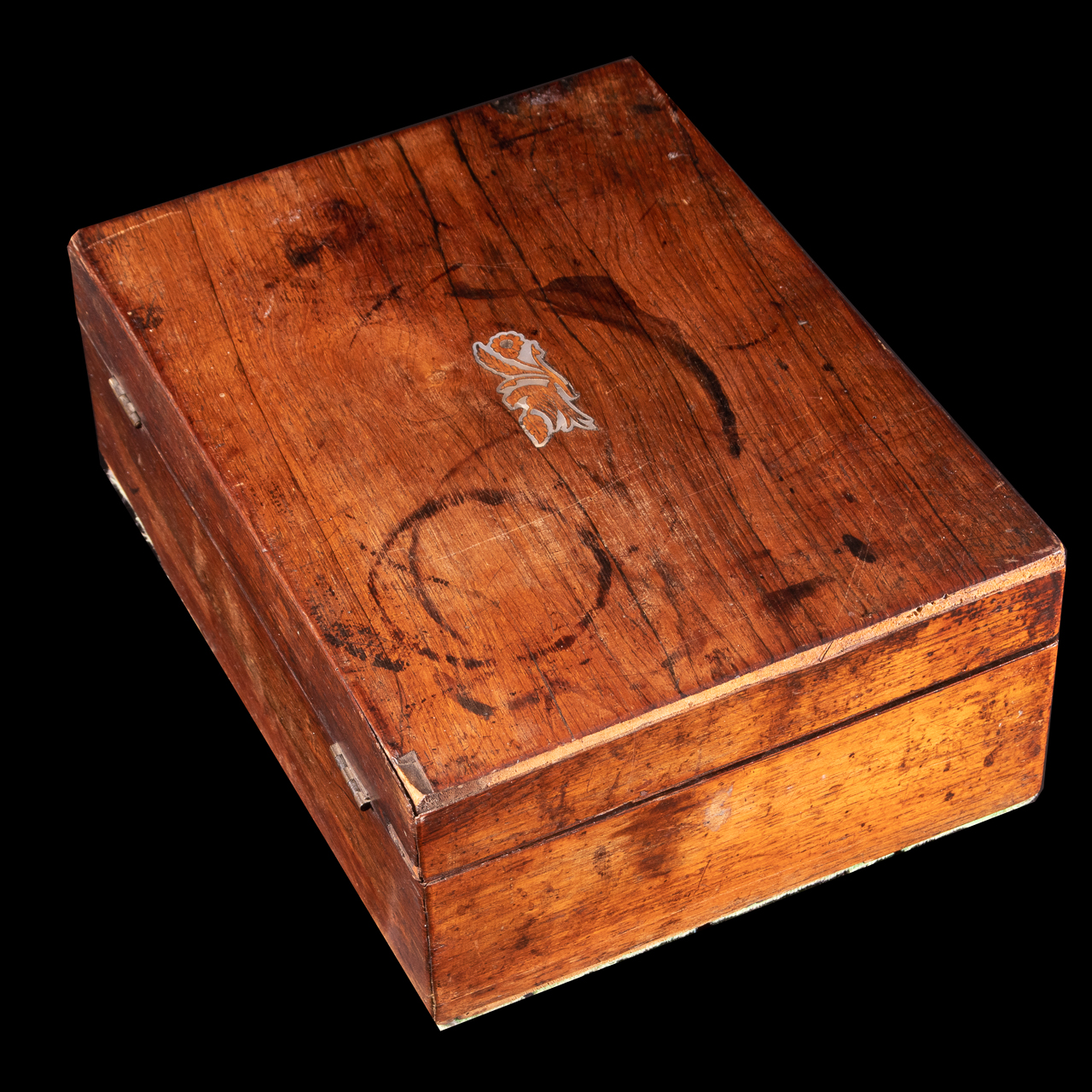Jewellery Box with Mother of Pearl Inlay - Image 4 of 5