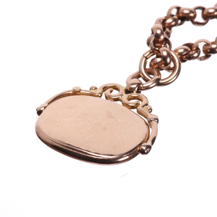Victorian Gold Fob Necklace - Image 3 of 5