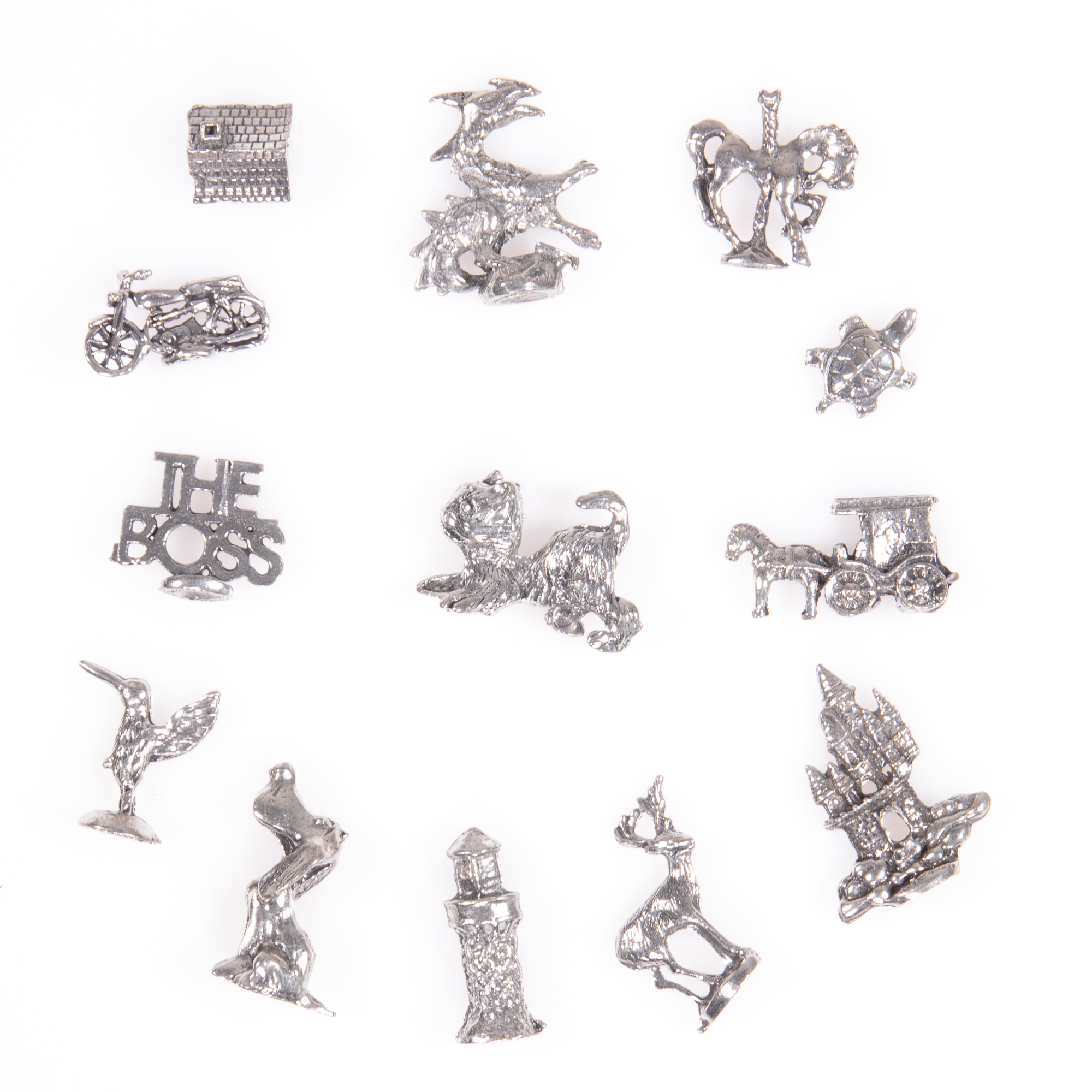 Selection of 13x Silver Novelty Charms - Image 3 of 6