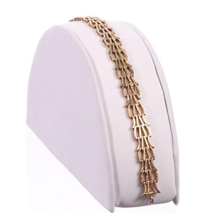 9ct Gold Bracelet - Image 3 of 6
