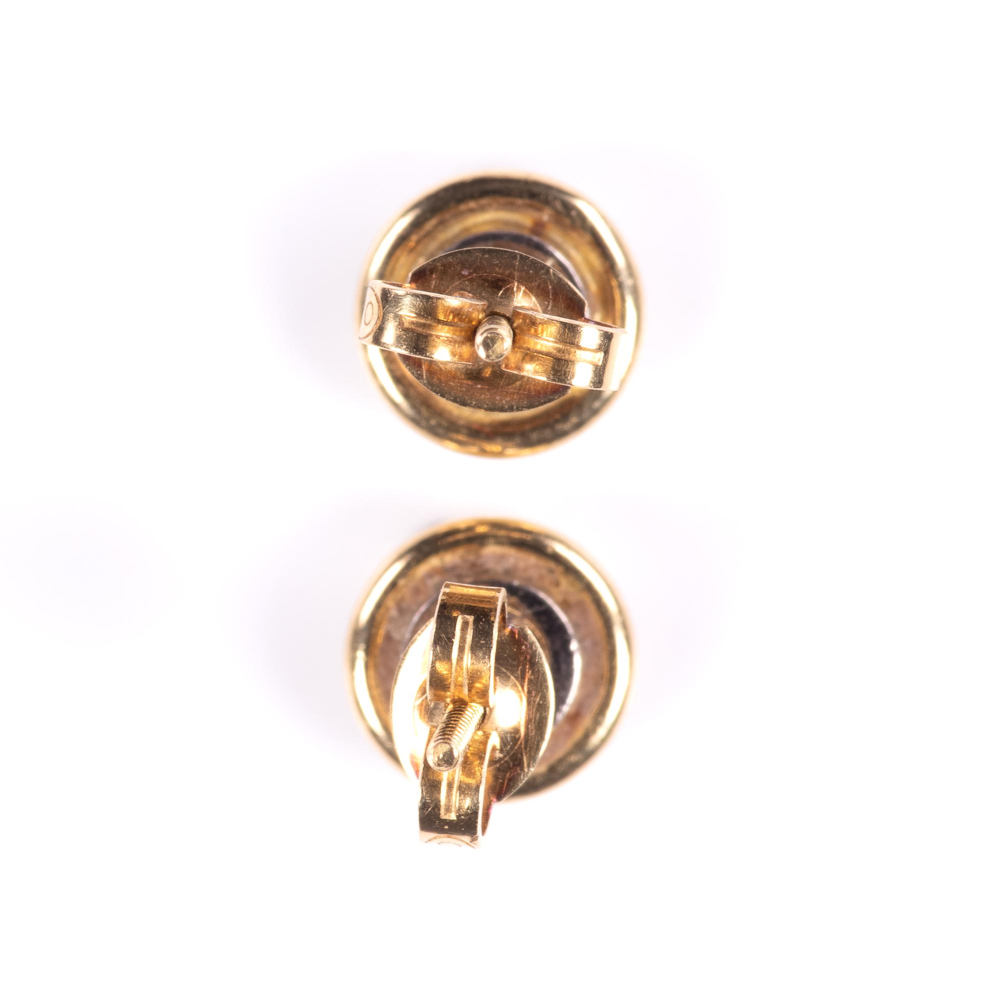 18ct Gold 1ct Diamond VVS1 Earrings - Image 7 of 7