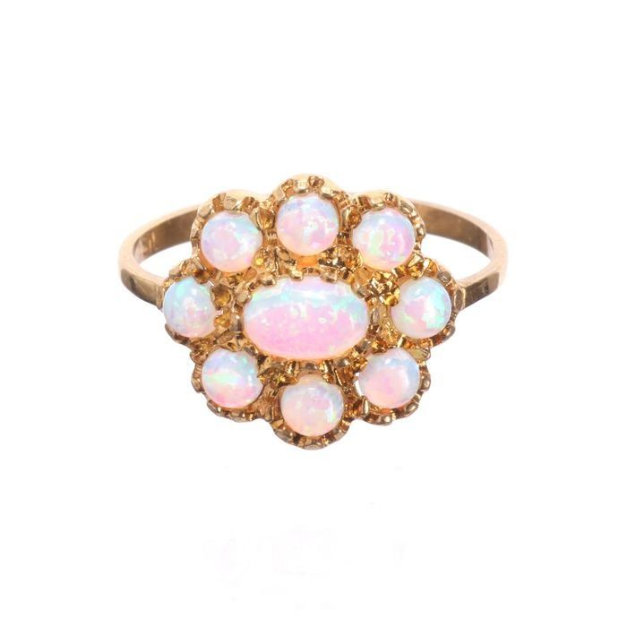 Opal Gilded Ring - Image 4 of 5