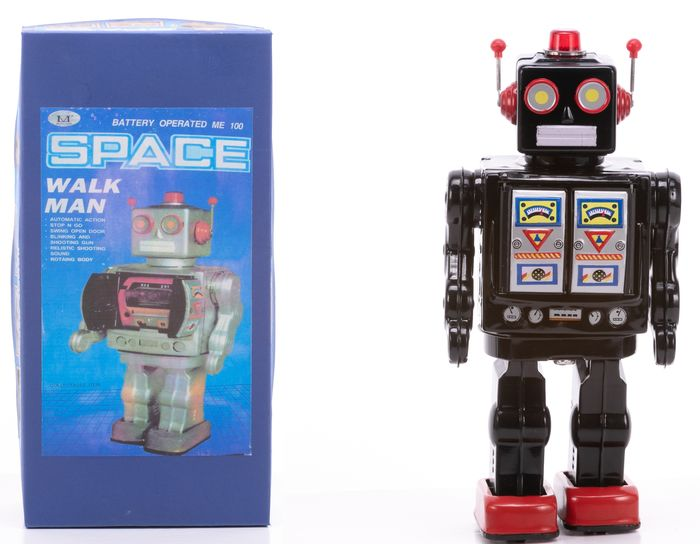 Battery Operated Tinplate Space Robot