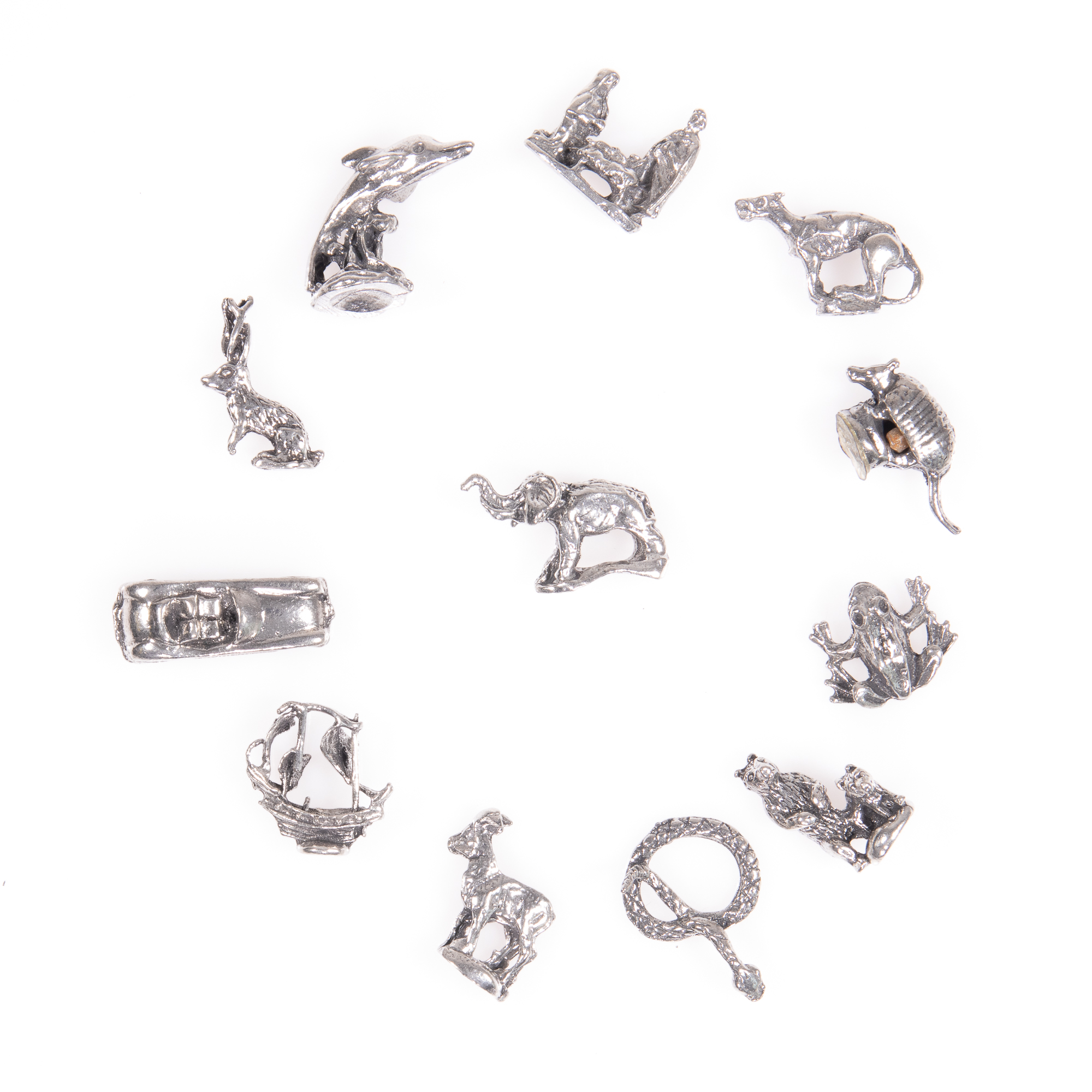 Selection of 12x Silver Novelty Charms - Image 2 of 6