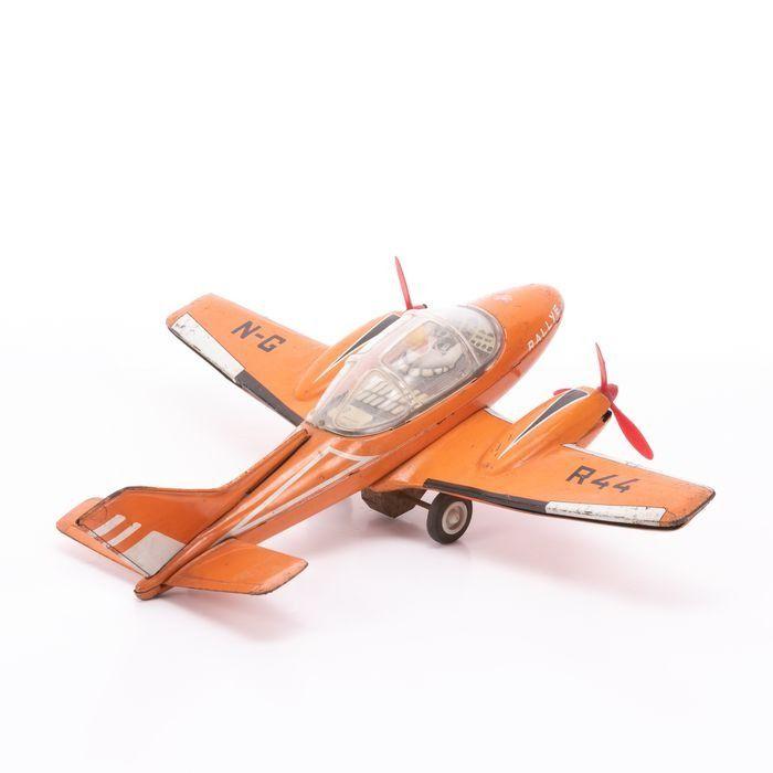 Joustra Tinplate Rallye Friction Toy Plane