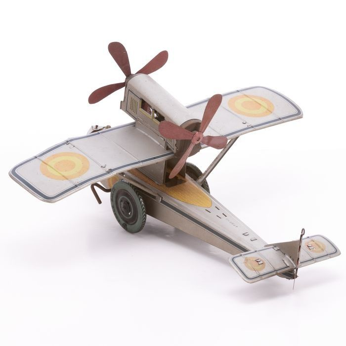 Cable Balon Wind-up Tinplate Plane - Image 3 of 6