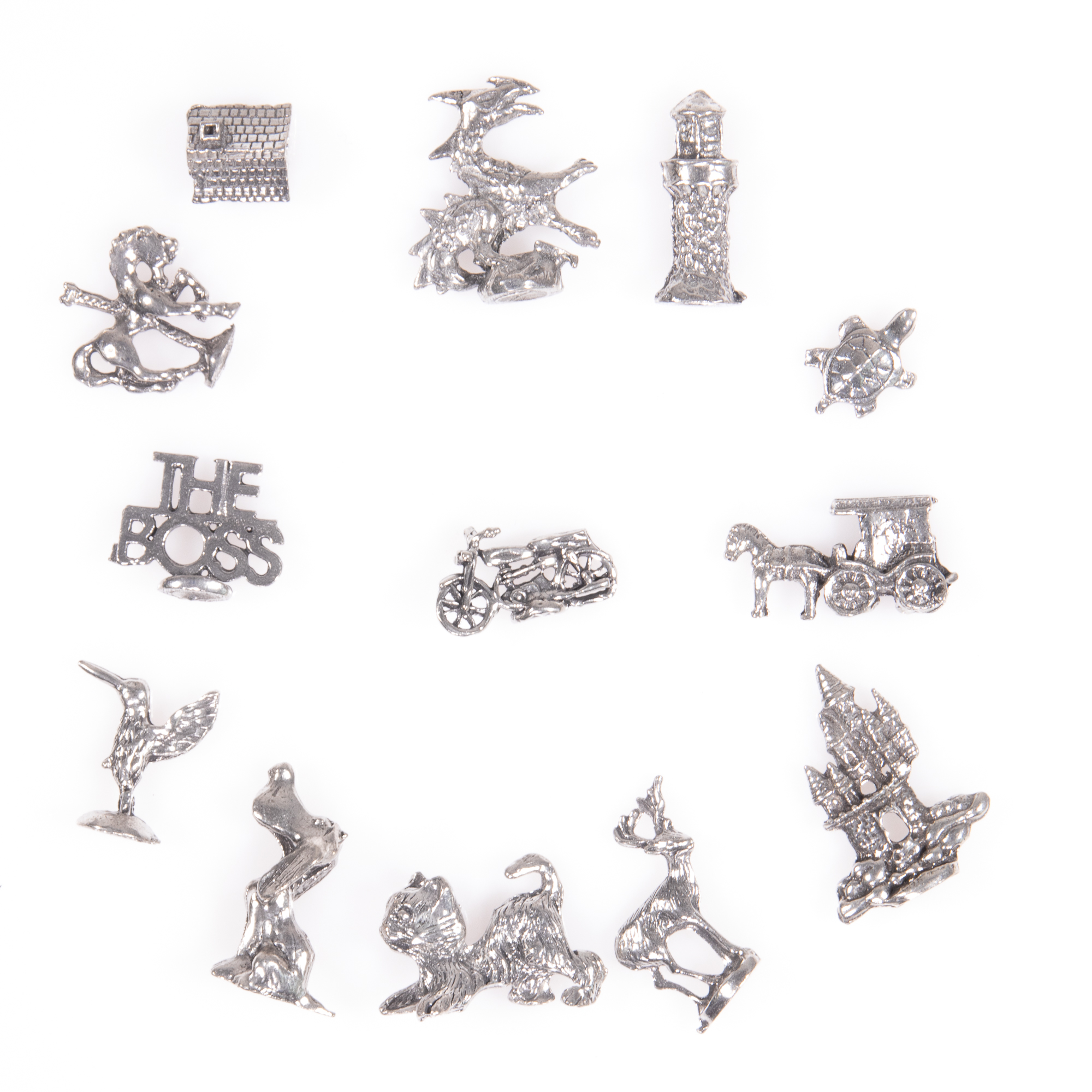 Selection of 13x Silver Novelty Charms - Image 6 of 6
