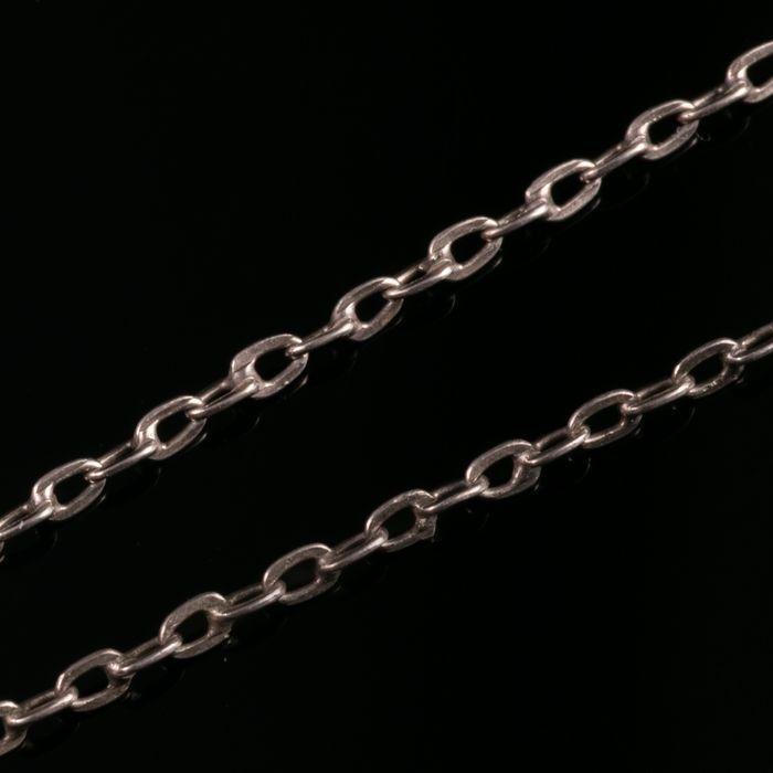 Liberty & Co Art Nouveau Silver Enamel Pendant & Necklace - Image 4 of 5