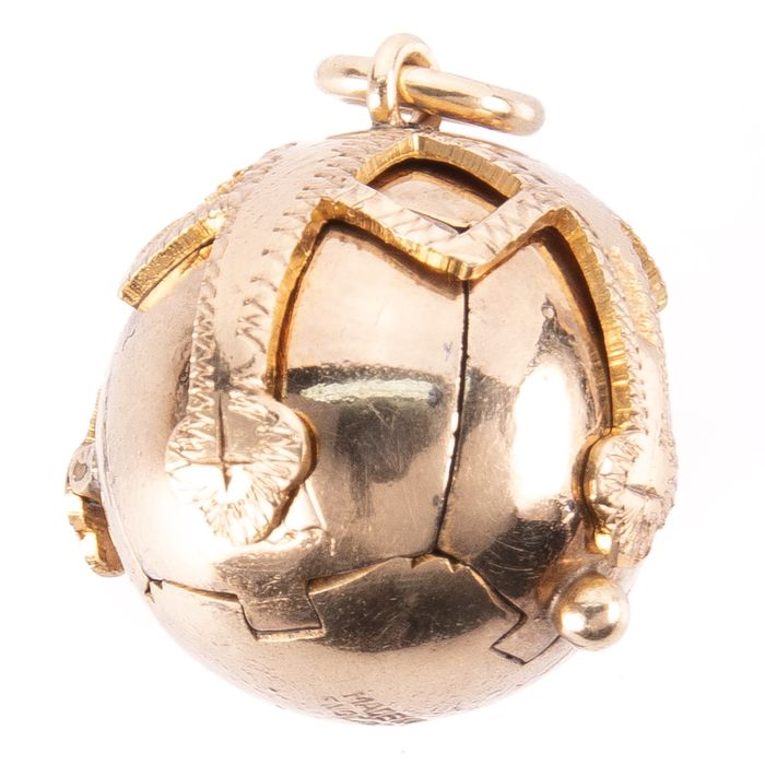 Gilt Masonic Orb Pendant