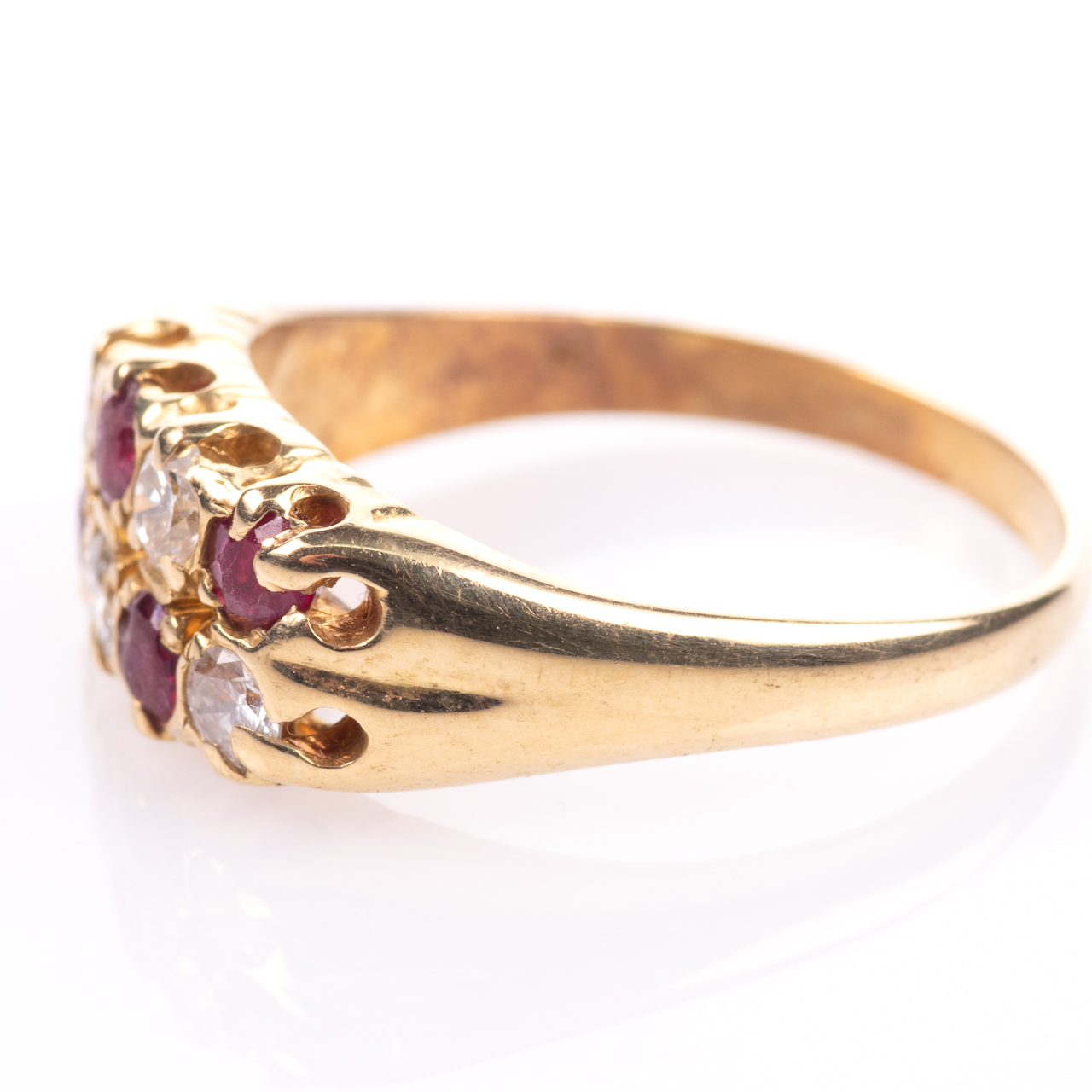 18ct Gold 0.60ct Ruby & 0.50ct Diamond Ring - Image 4 of 7