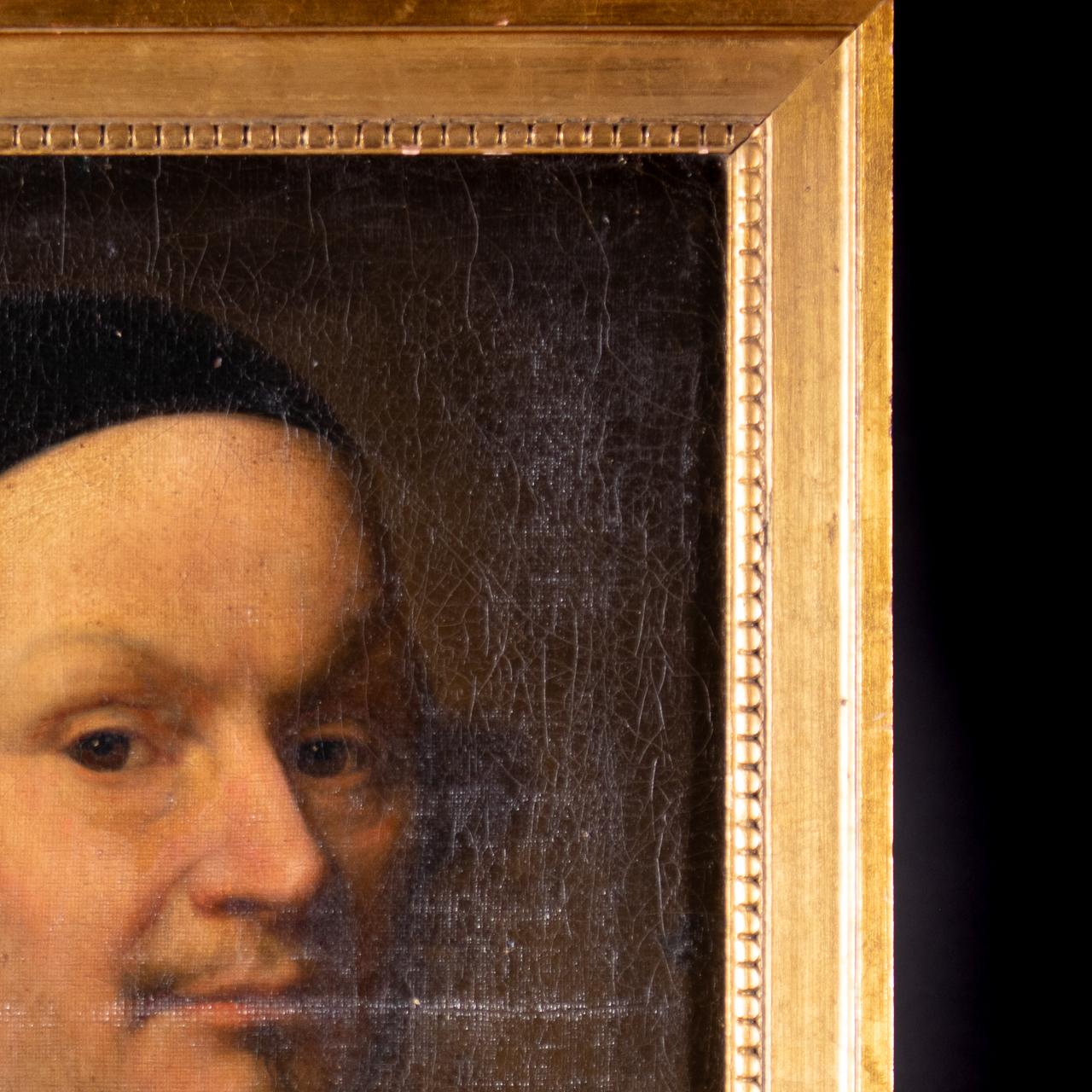 XVII Old Master Portrait - Cardinal - Image 9 of 12