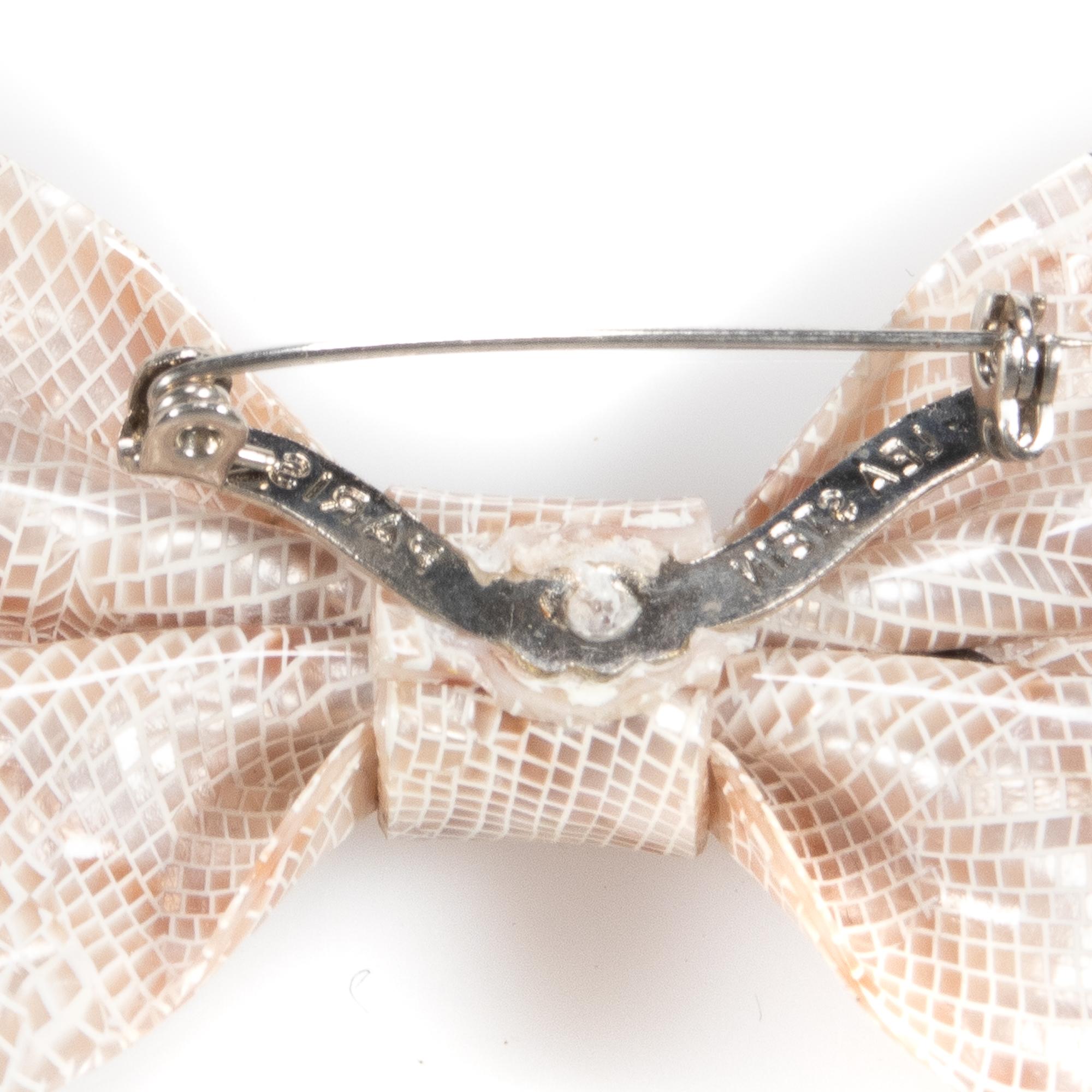Lea Stein Signed Paris Bakelite Designer Brooch - Image 6 of 6