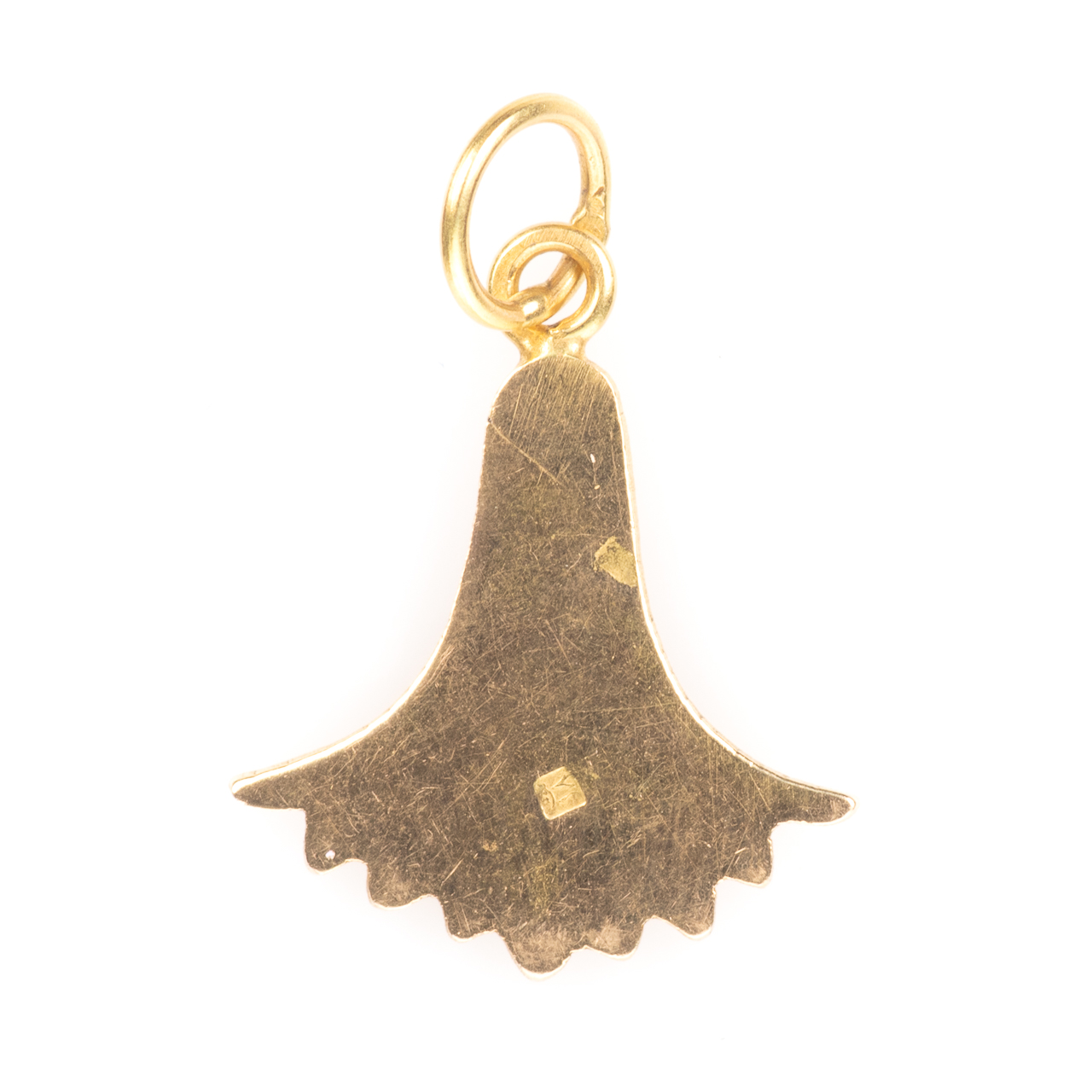 18ct Lotus Flower Pendant - Image 4 of 5