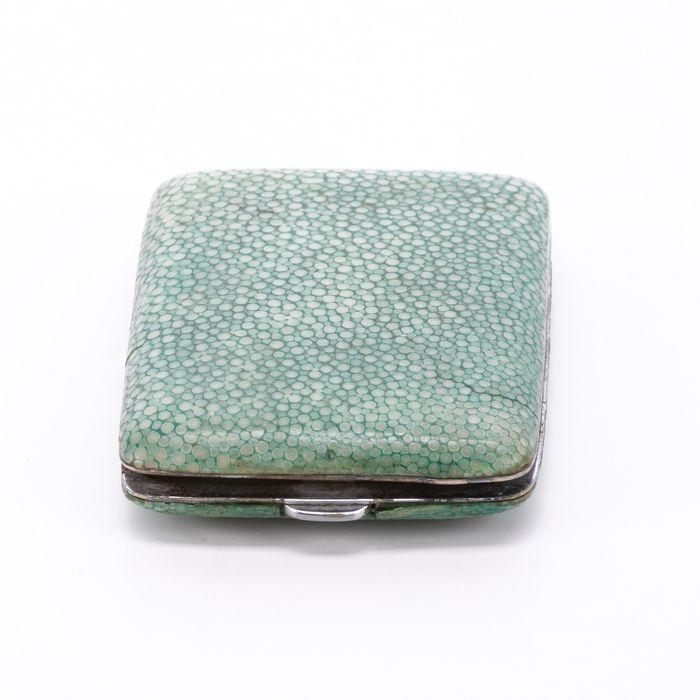 Edwardian Snakeskin Cigarette Case or Match Holder