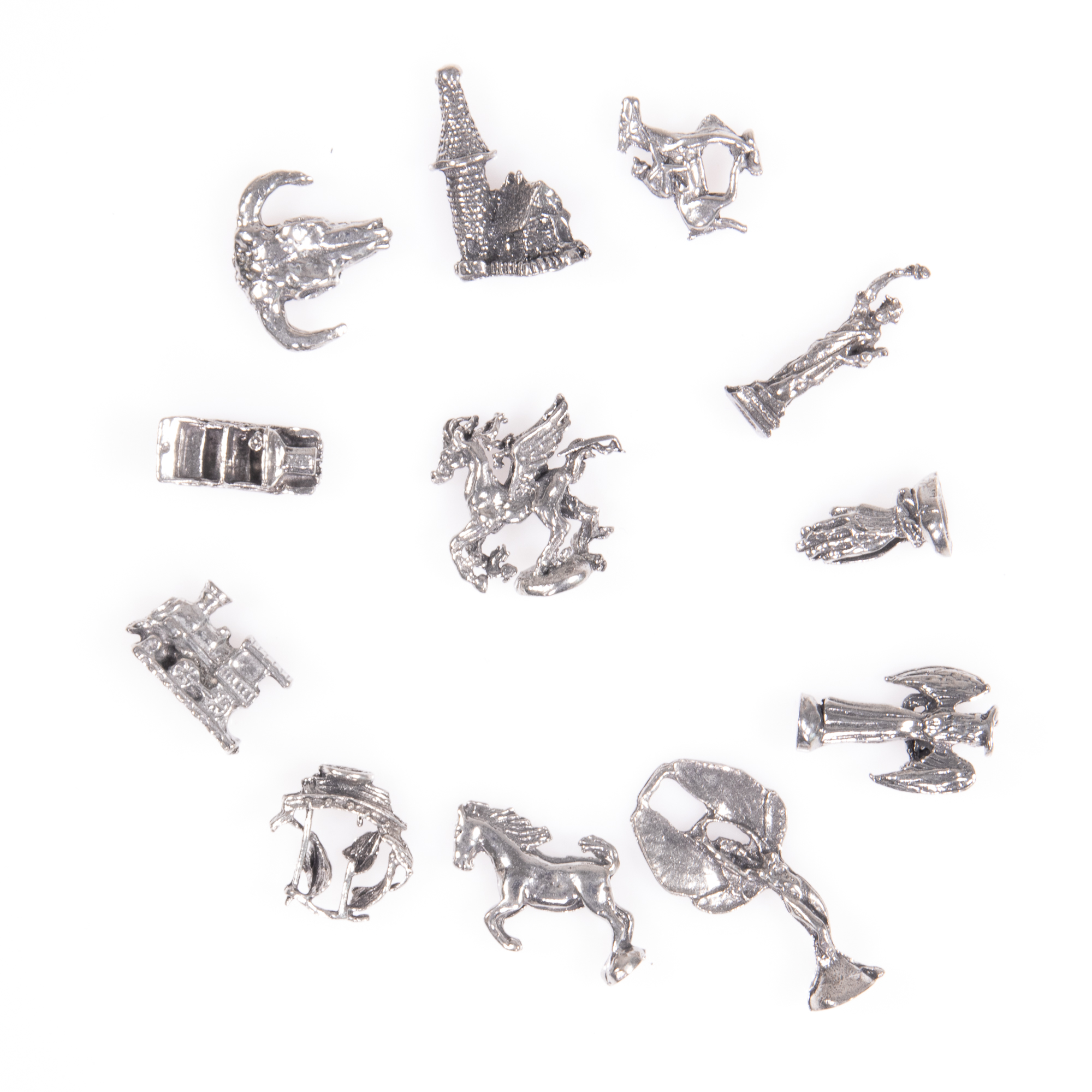 Selection of 12x Silver Novelty Charms - Image 6 of 6
