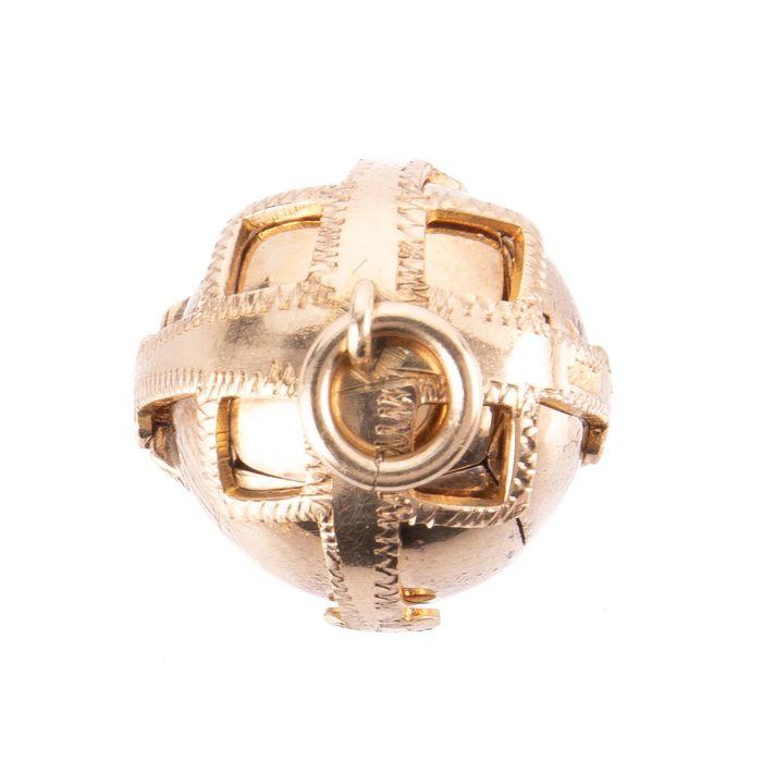 Gilt Masonic Orb Pendant - Image 5 of 7