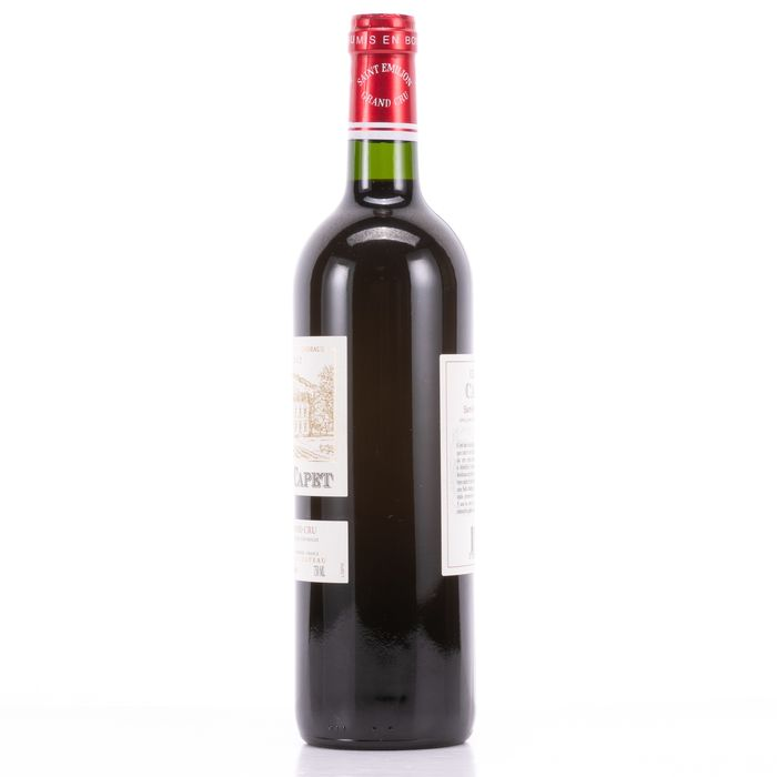 Chateau Capet 2012 Wine - Saint-Emilion - 1 Bottle (0.75L) - Image 4 of 4